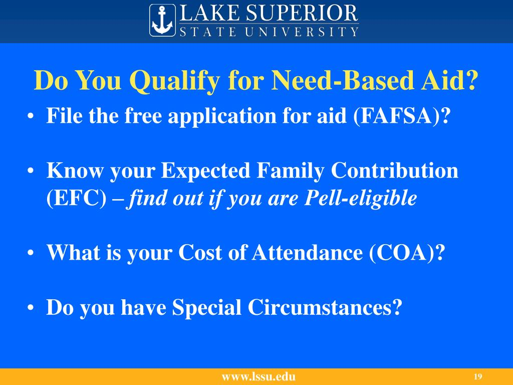 Do You Qualify for Need-Based Aid?