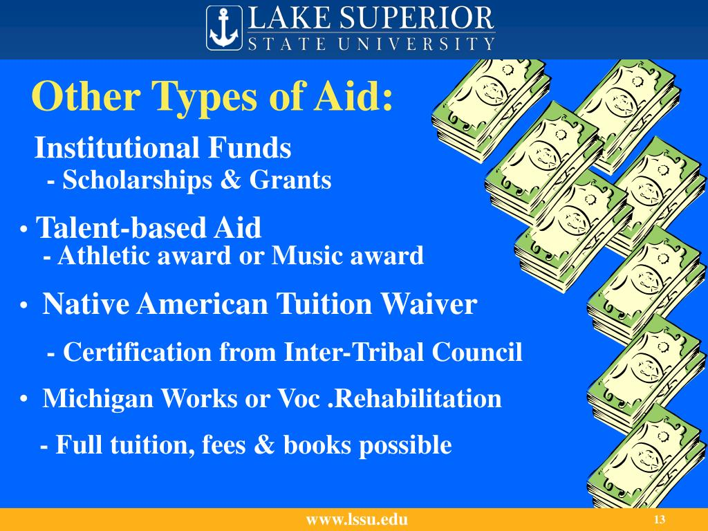 Other Types of Aid: