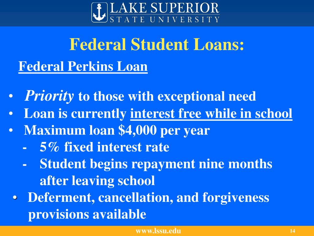 Federal Student Loans:
