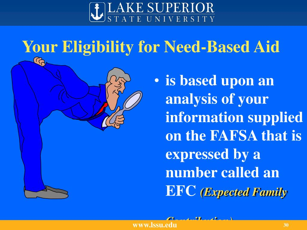 Your Eligibility for Need-Based Aid