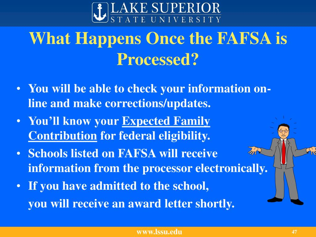 What Happens Once the FAFSA is Processed?