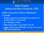state grants tuition incentive program tip