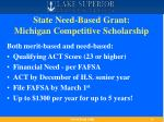 state need based grant michigan competitive scholarship
