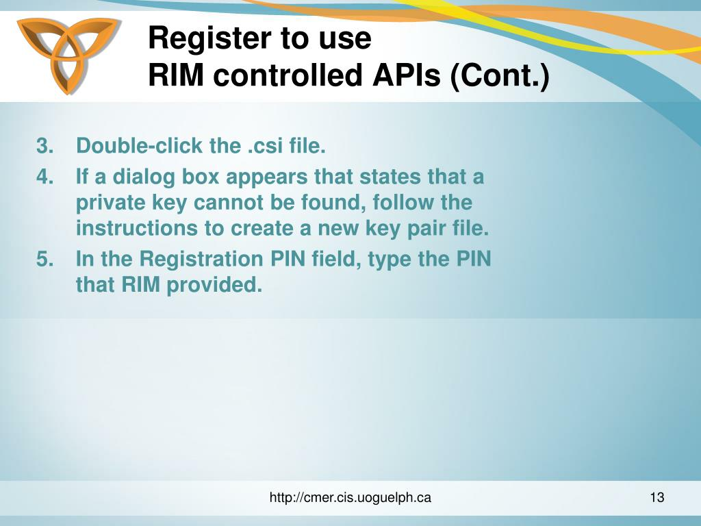 Register to use