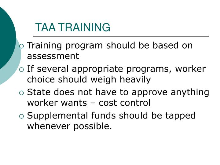 TAA TRAINING