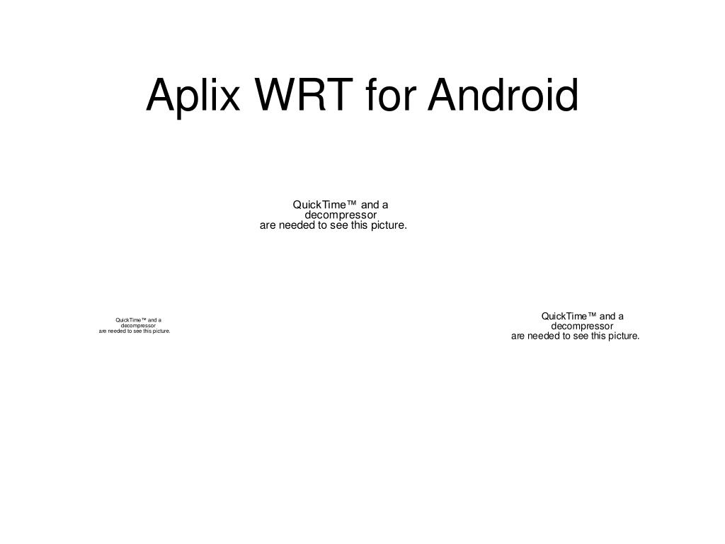 Aplix WRT for Android
