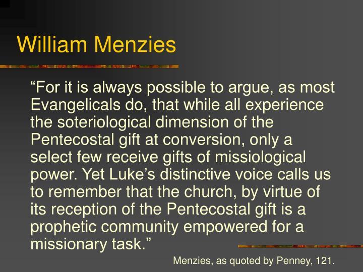 William Menzies