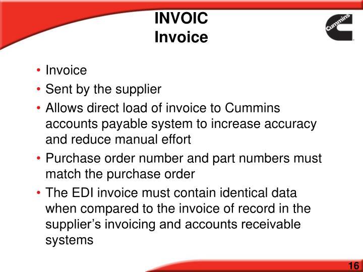 INVOIC