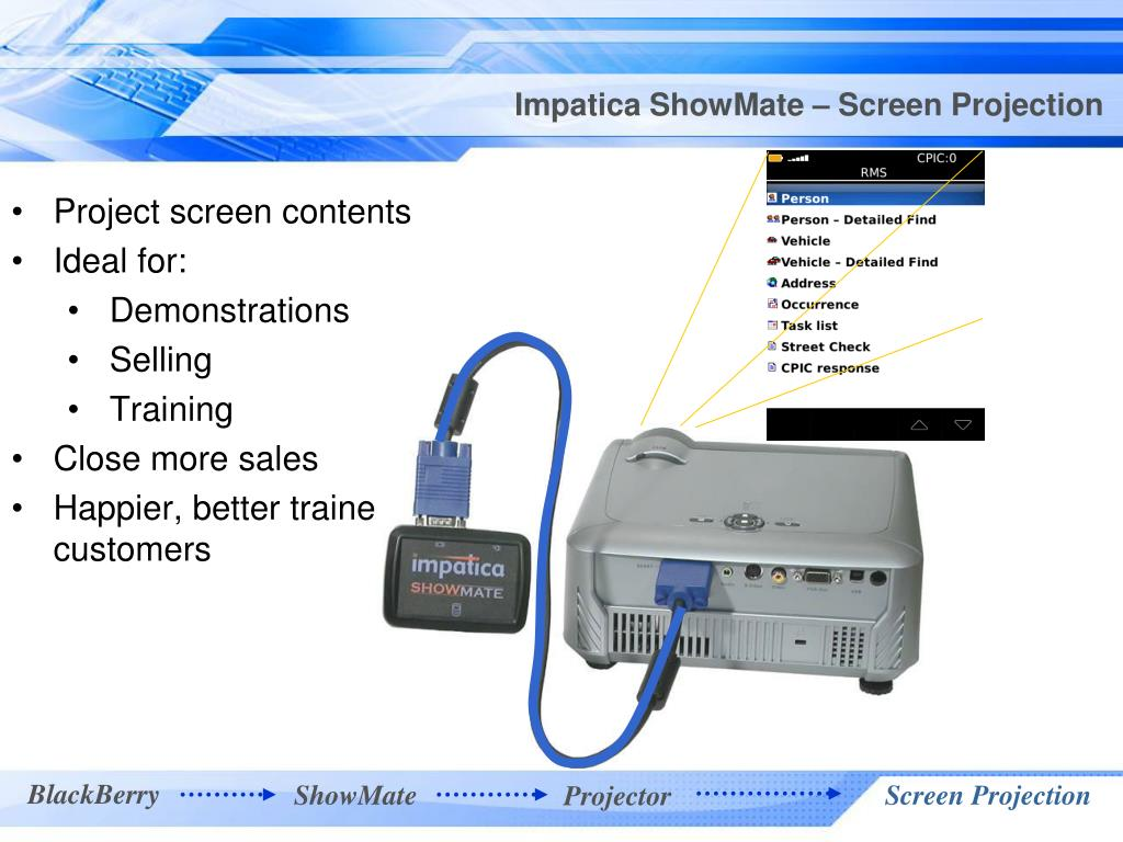 Impatica ShowMate – Screen Projection