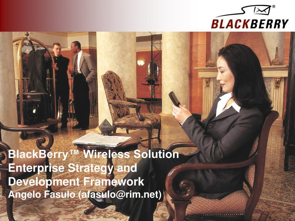 BlackBerry™ Wireless Solution