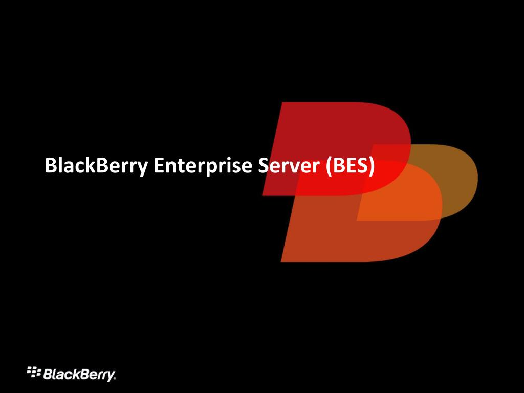 BlackBerry Enterprise Server (BES)