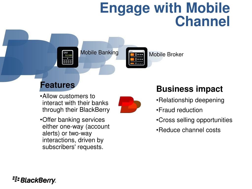 Engage with Mobile Channel