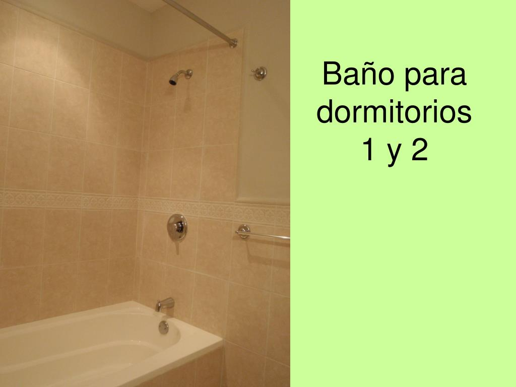 Baño para dormitorios 1 y 2