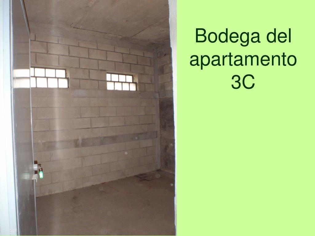 Bodega del apartamento 3C