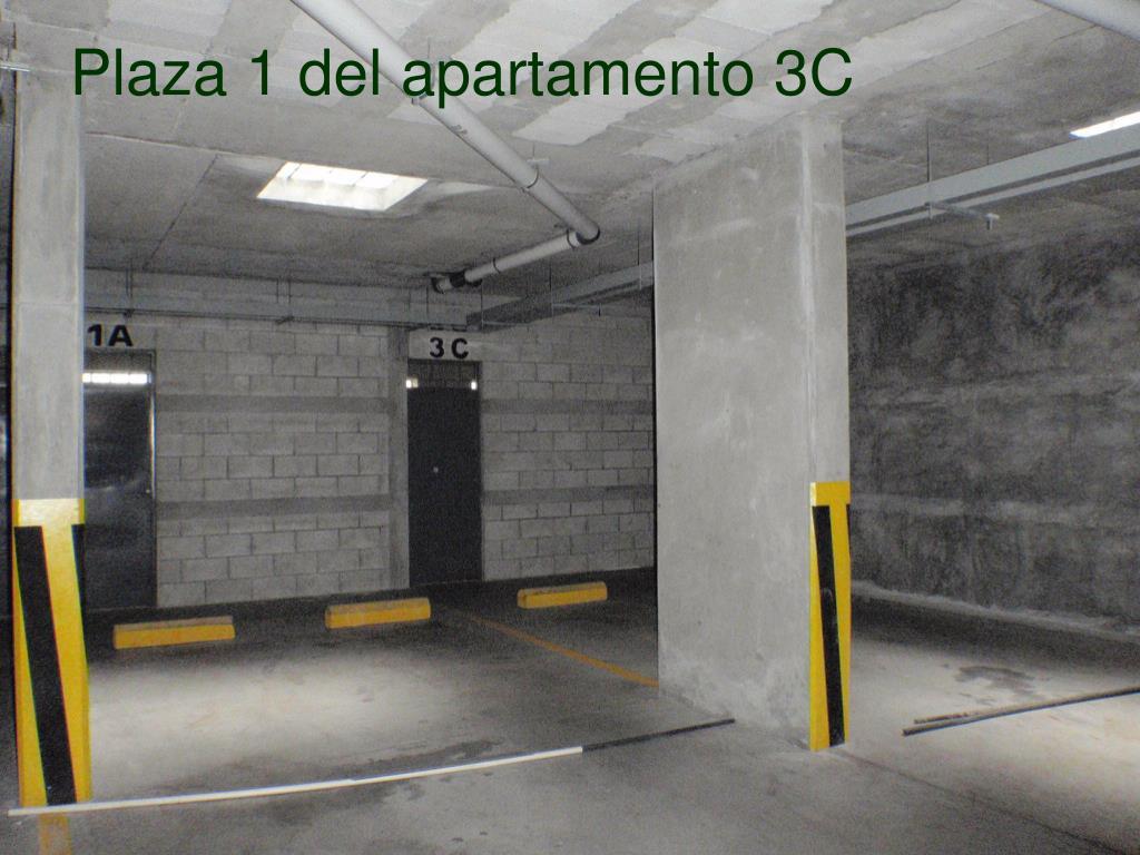 Plaza 1 del apartamento 3C