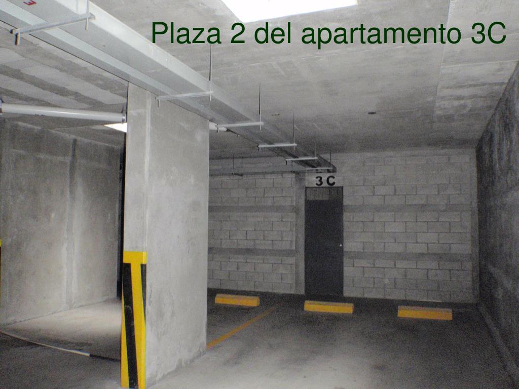 Plaza 2 del apartamento 3C