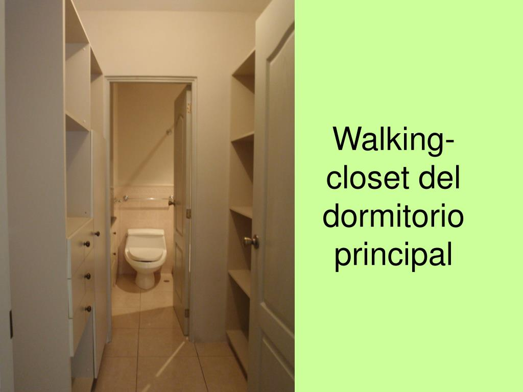 Walking- closet del dormitorio principal
