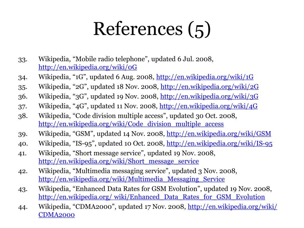 References (5)