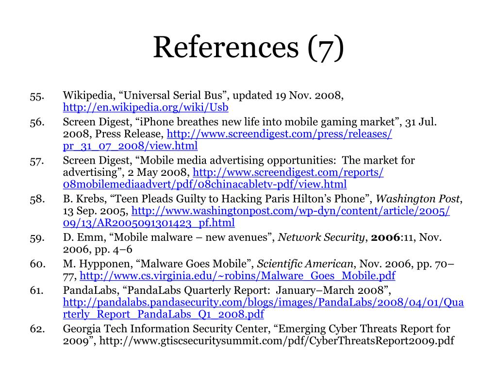 References (7)