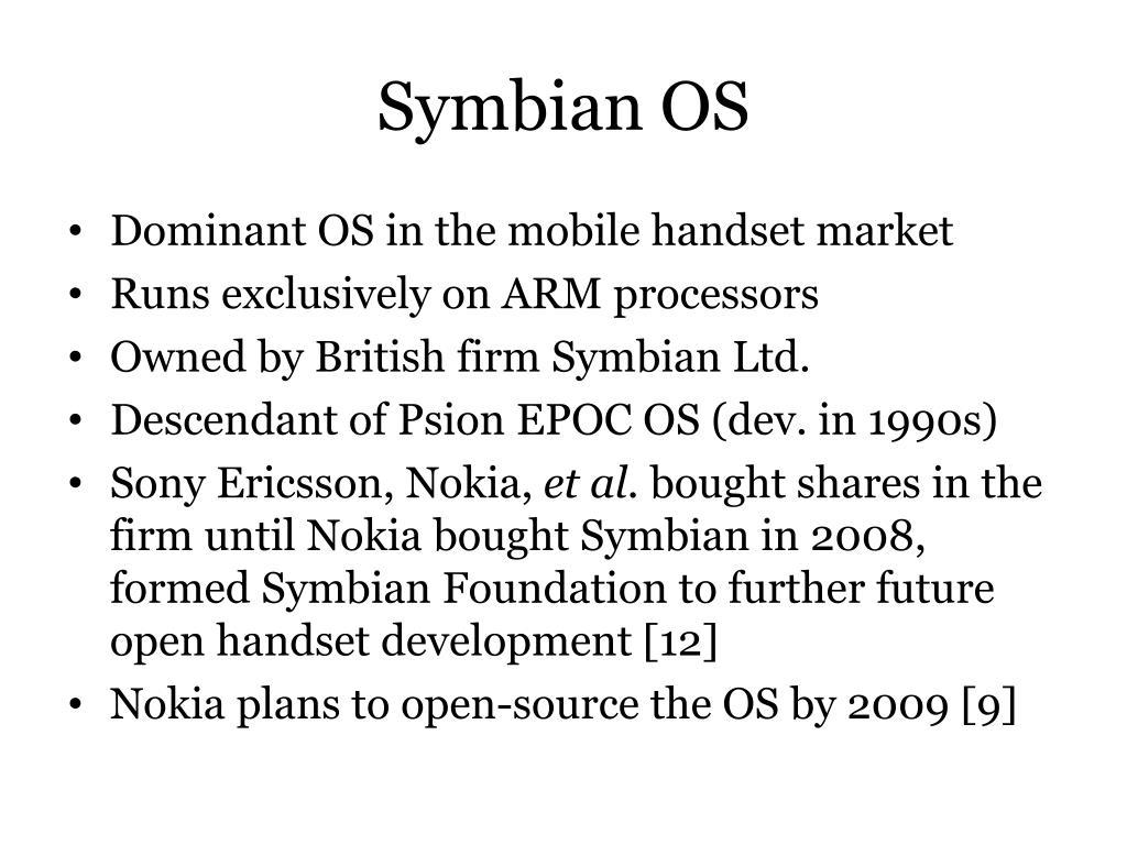 Symbian OS