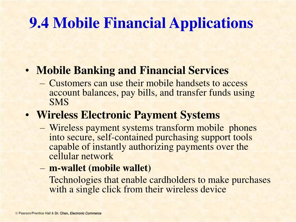 9.4 Mobile Financial Applications