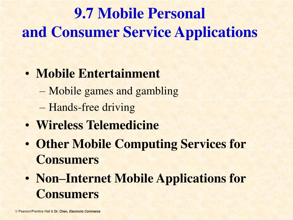 9.7 Mobile Personal