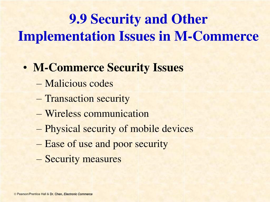 9.9 Security and Other