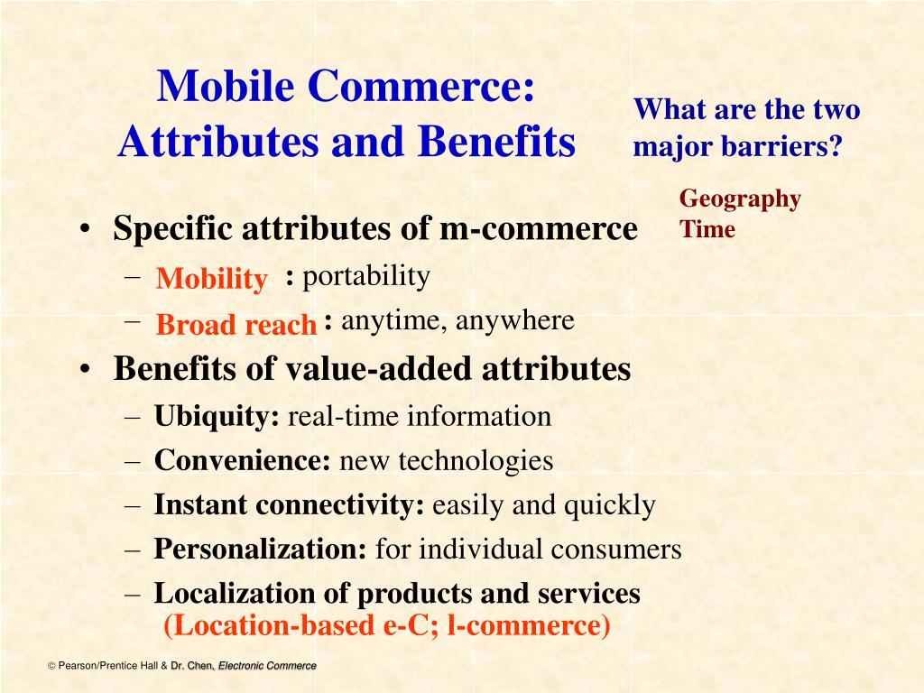 Mobile Commerce: