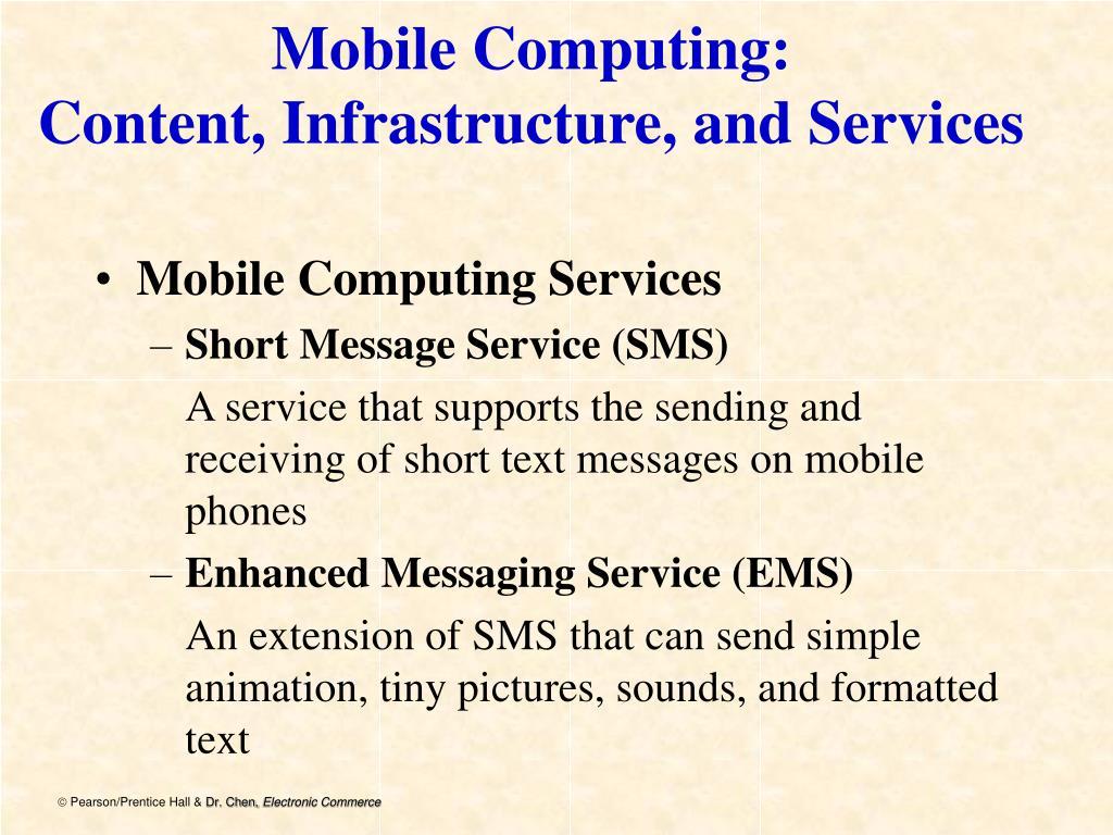 Mobile Computing: