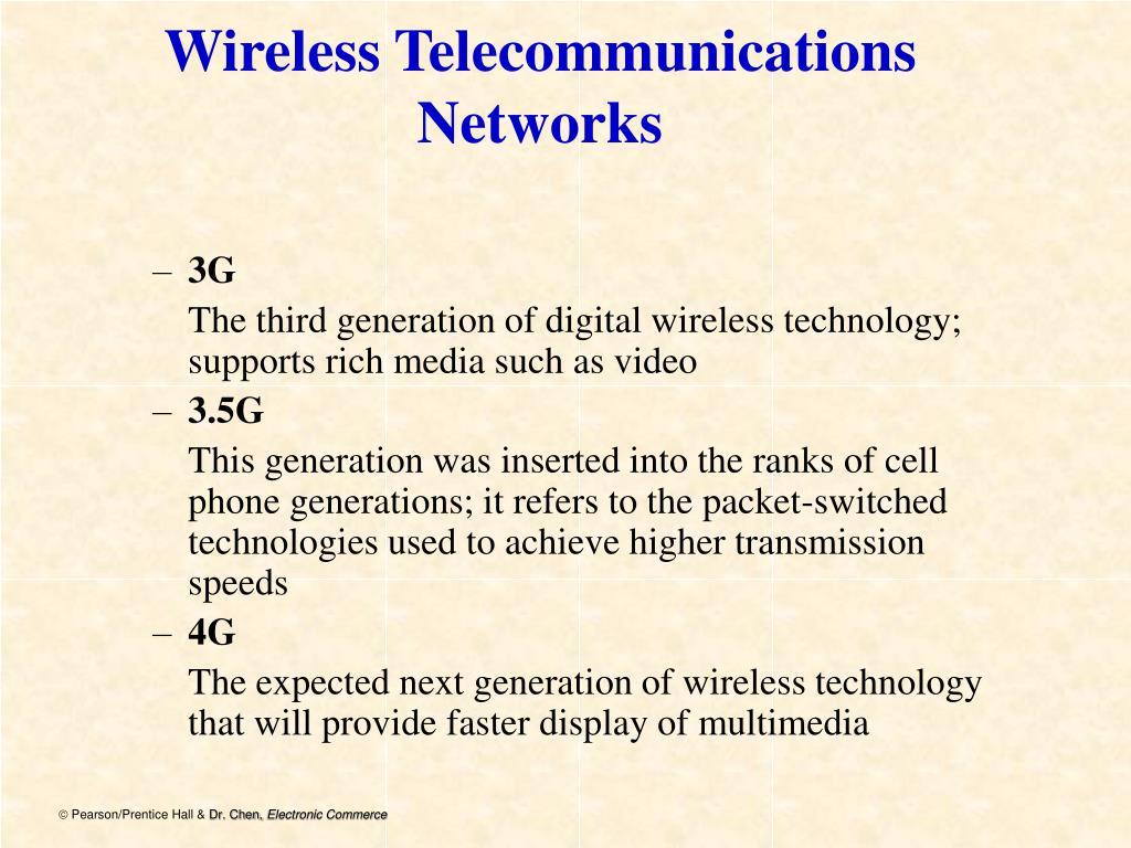 Wireless Telecommunications Networks