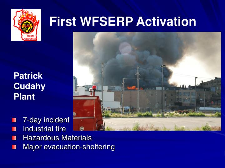First WFSERP Activation