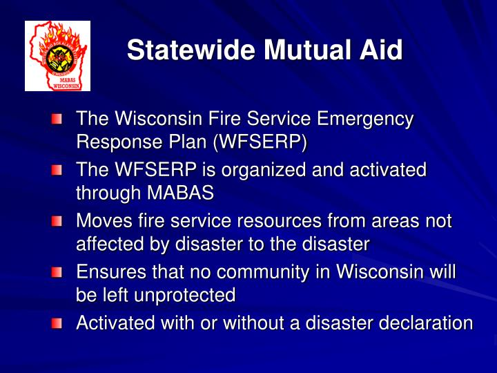 Statewide Mutual Aid