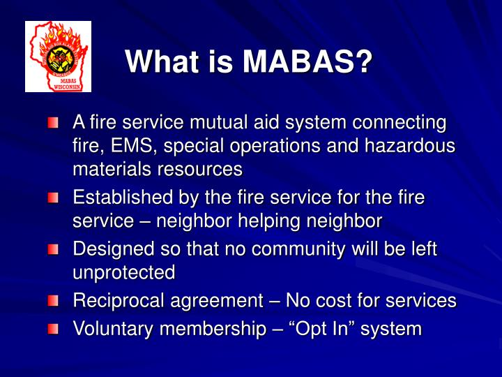 What is MABAS?