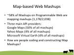 map based web mashups