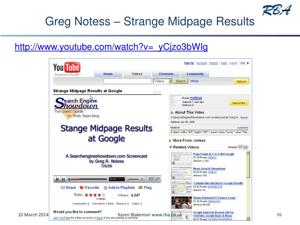 Greg Notess – Strange Midpage Results