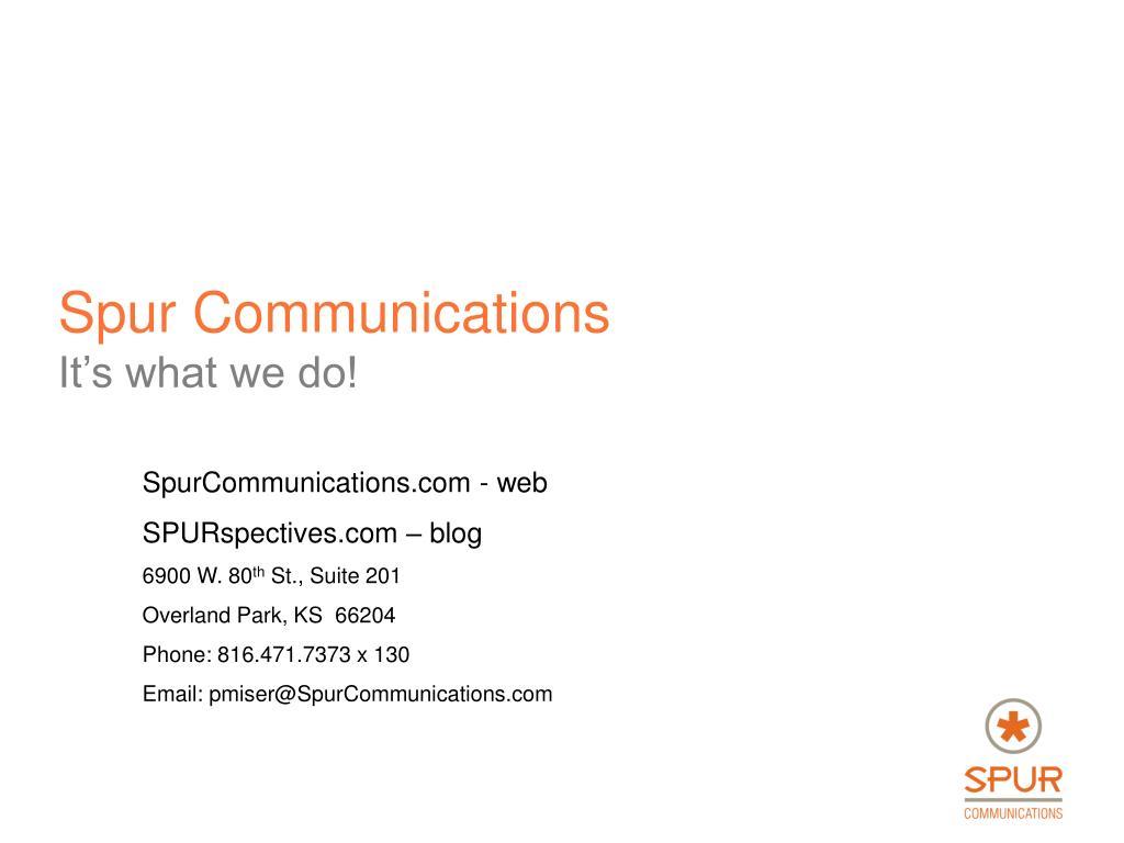 Spur Communications