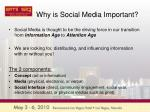 why is social media important