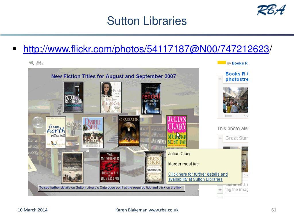 Sutton Libraries