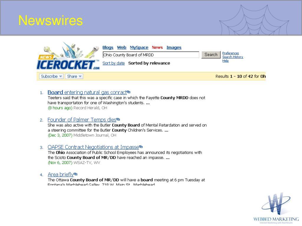 Newswires