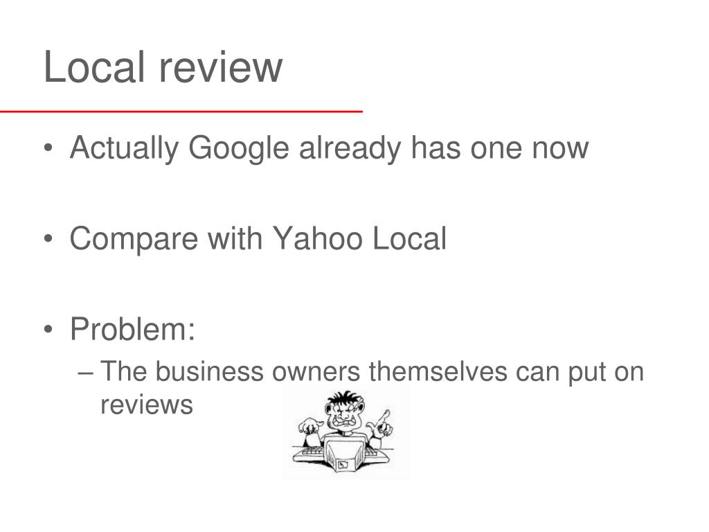 Local review