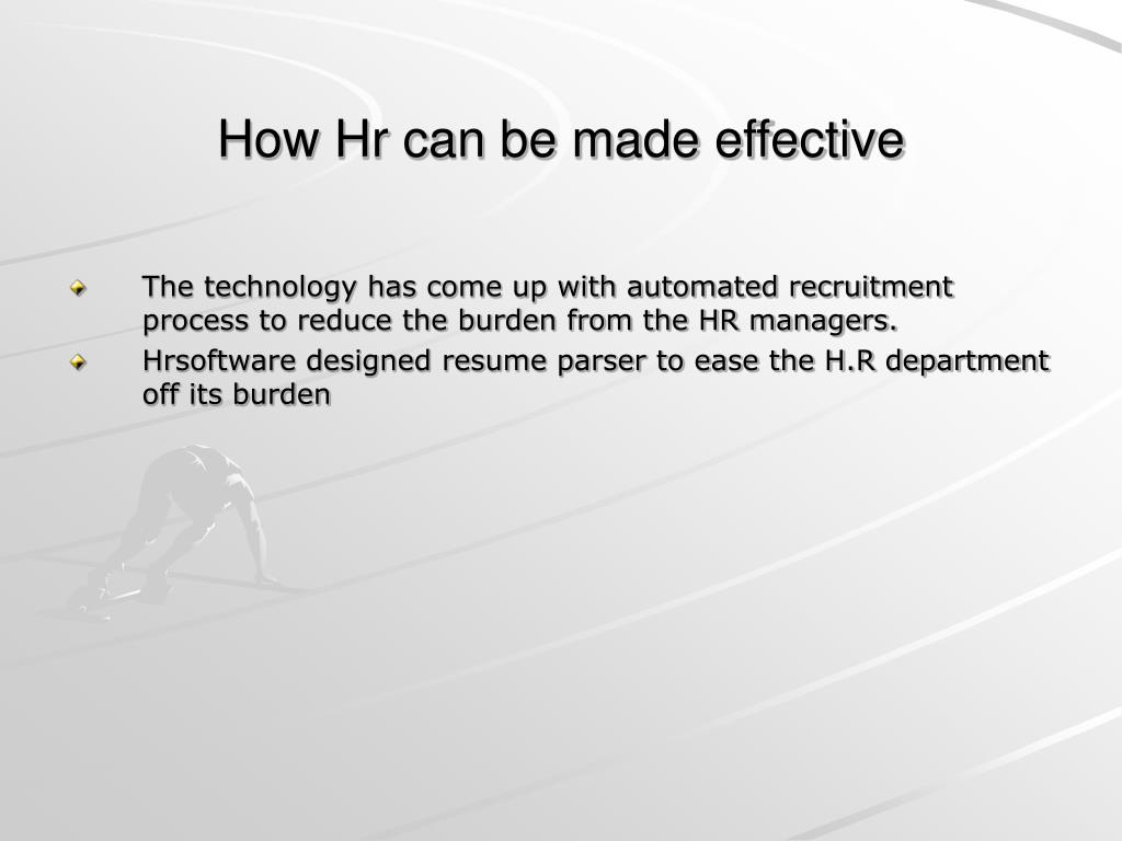 How Hr can be made effective