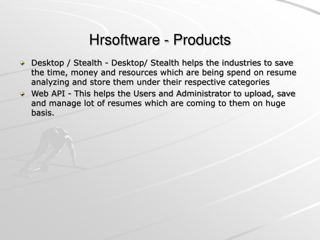 Hrsoftware - Products