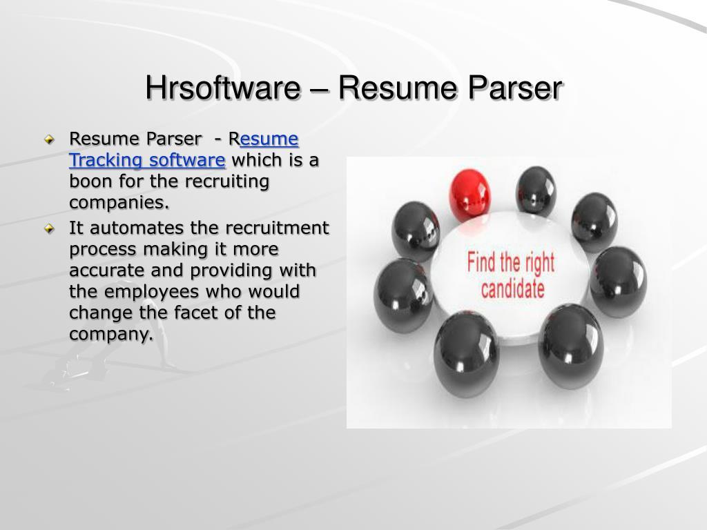 Hrsoftware – Resume Parser