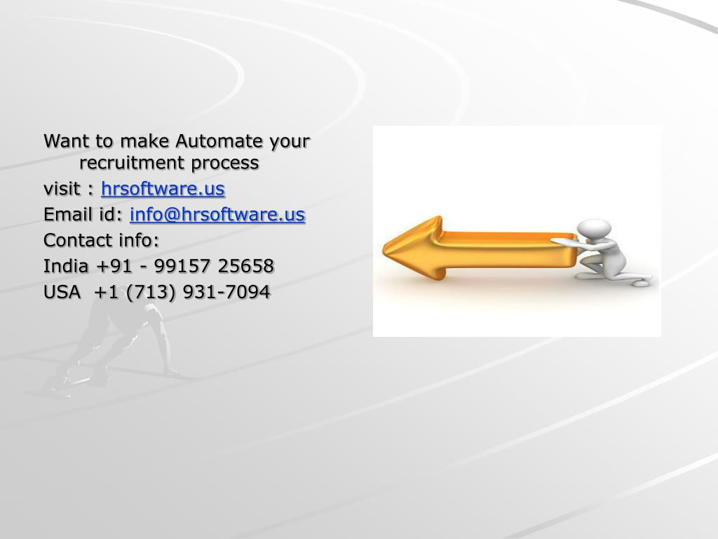 Want to make Automate your recruitment process