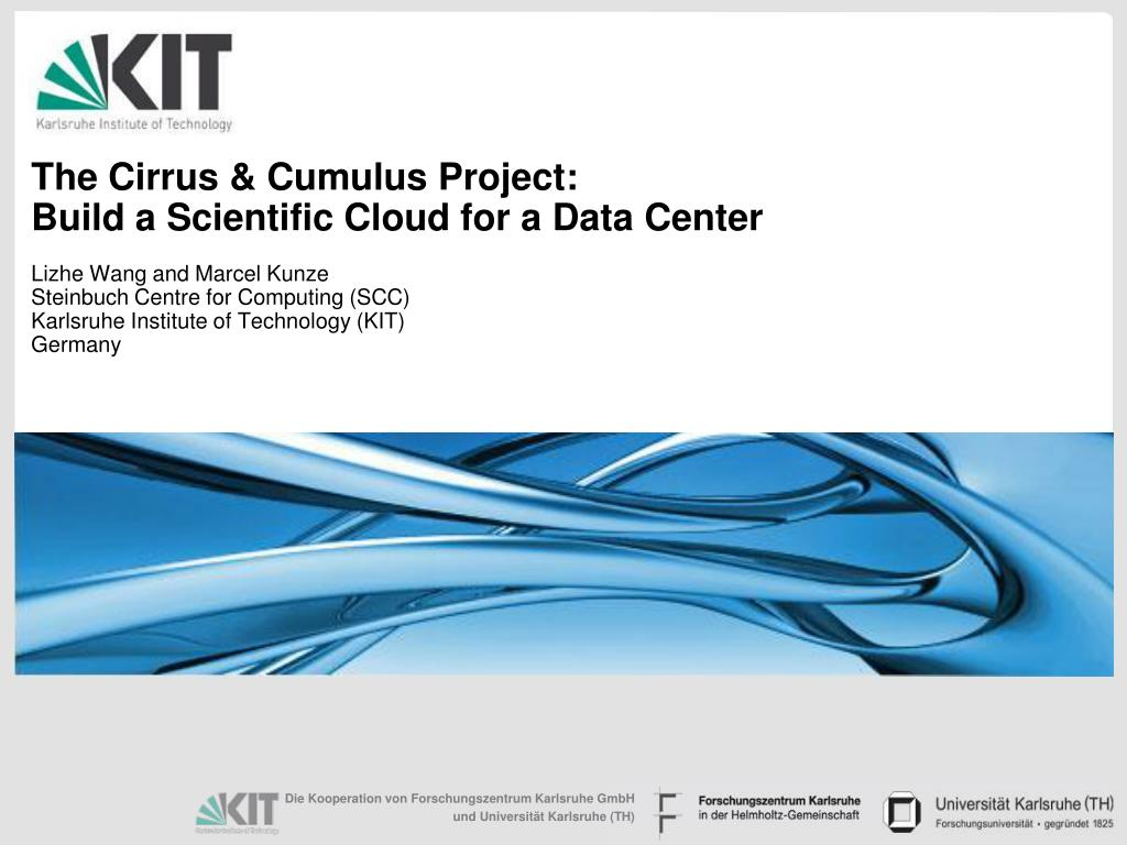 The Cirrus & Cumulus Project: