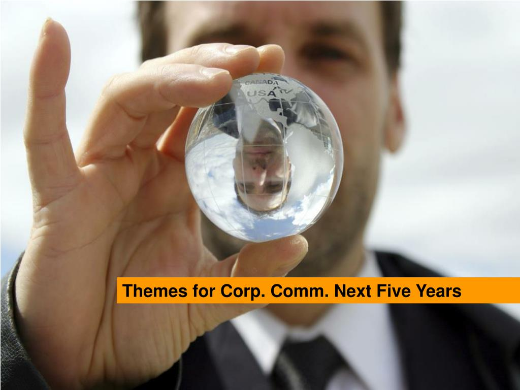 Themes for Corp. Comm. Next Five Years