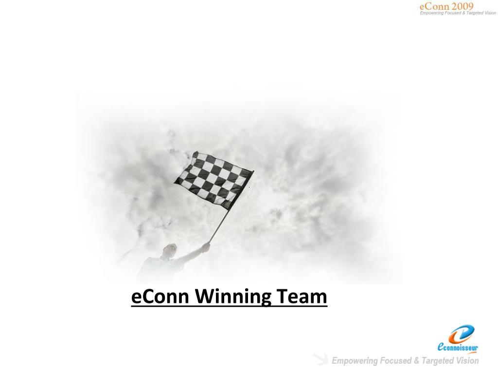 eConn Winning Team