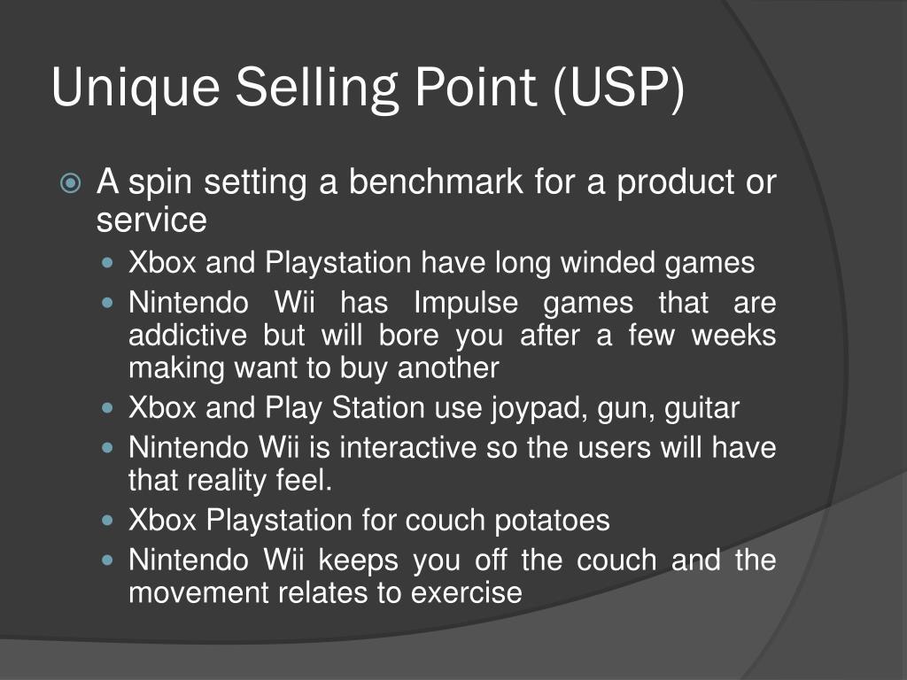 Unique Selling Point (USP)