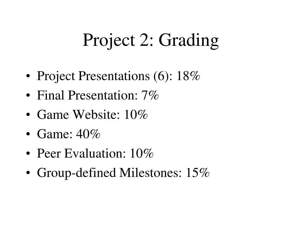Project 2: Grading