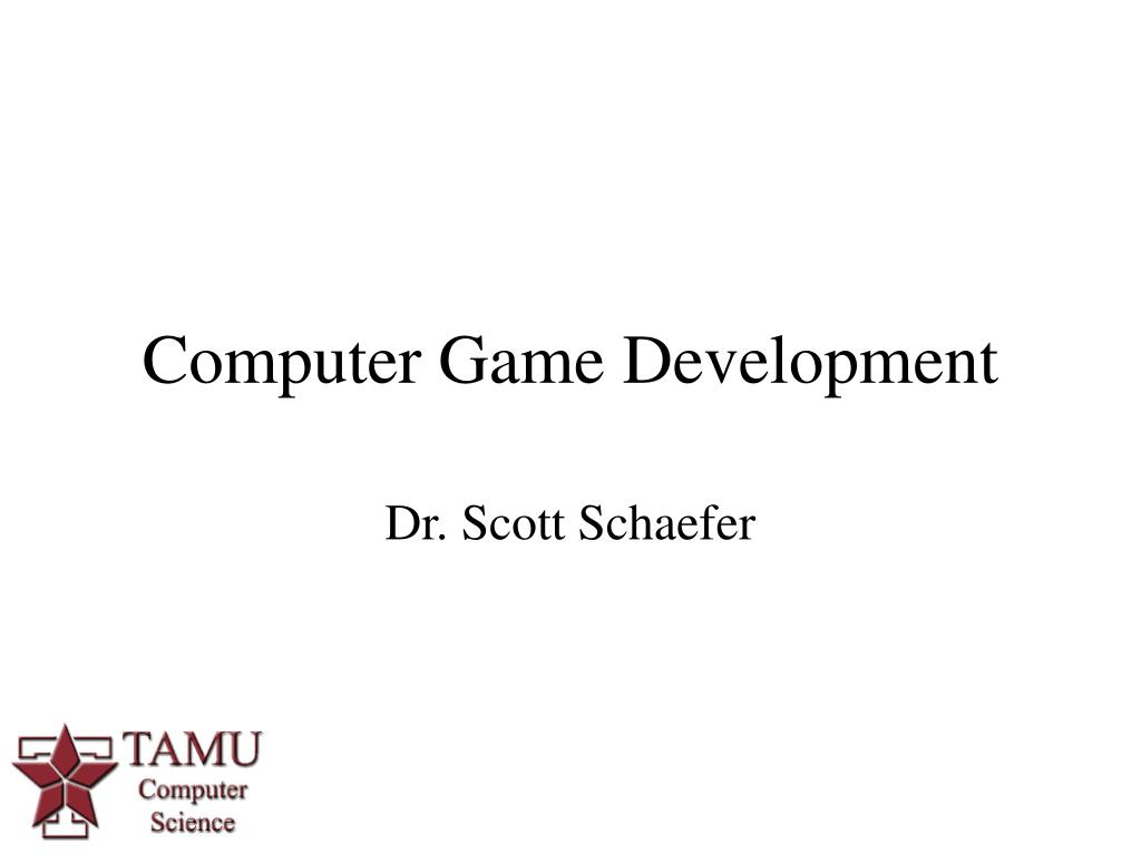 Computer Game Development